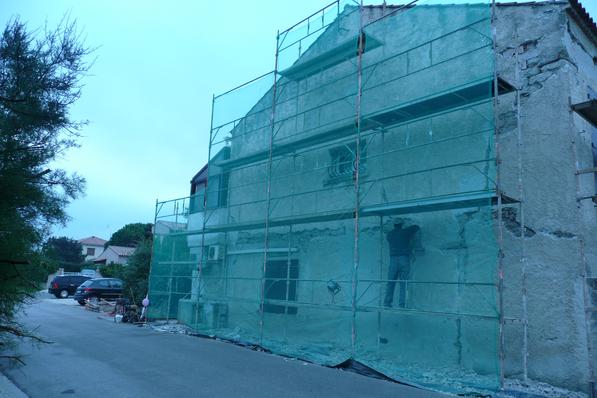 rénovation, réfection et ravalement de façade à Six Fours les Plages dans le Var 83